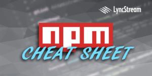 essential npm commands
